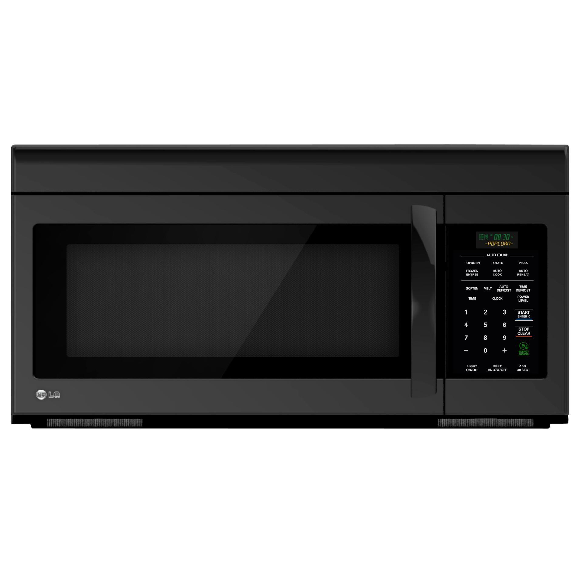 black over the range microwaves sears