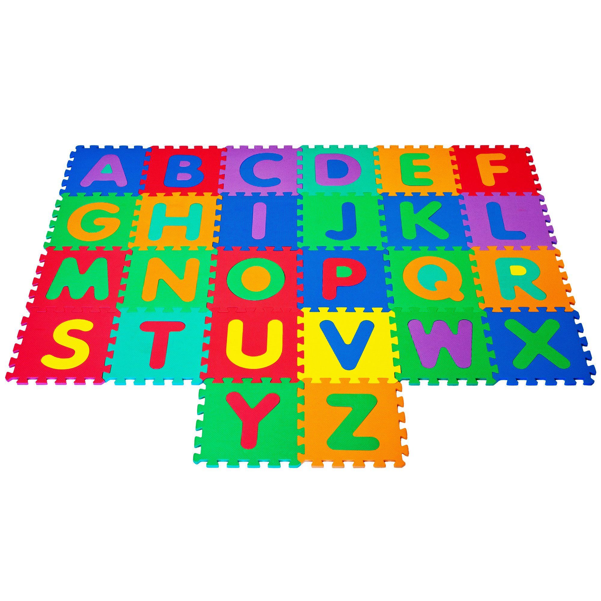 Trademark Foam Floor Alphabet Puzzles Mat For Kids