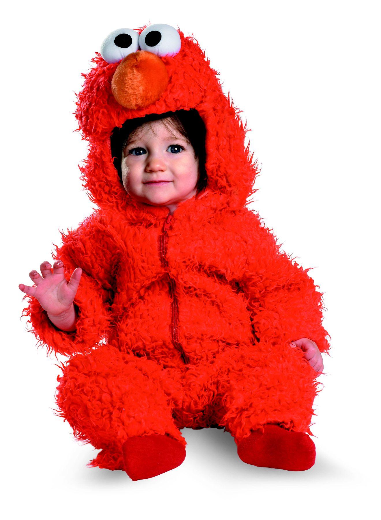 Sesame Street Elmo Infant Plush Toddler Halloween Costume