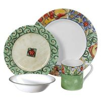 Corelle Impressions Enchanted 16-Piece Dinnerware Set ...