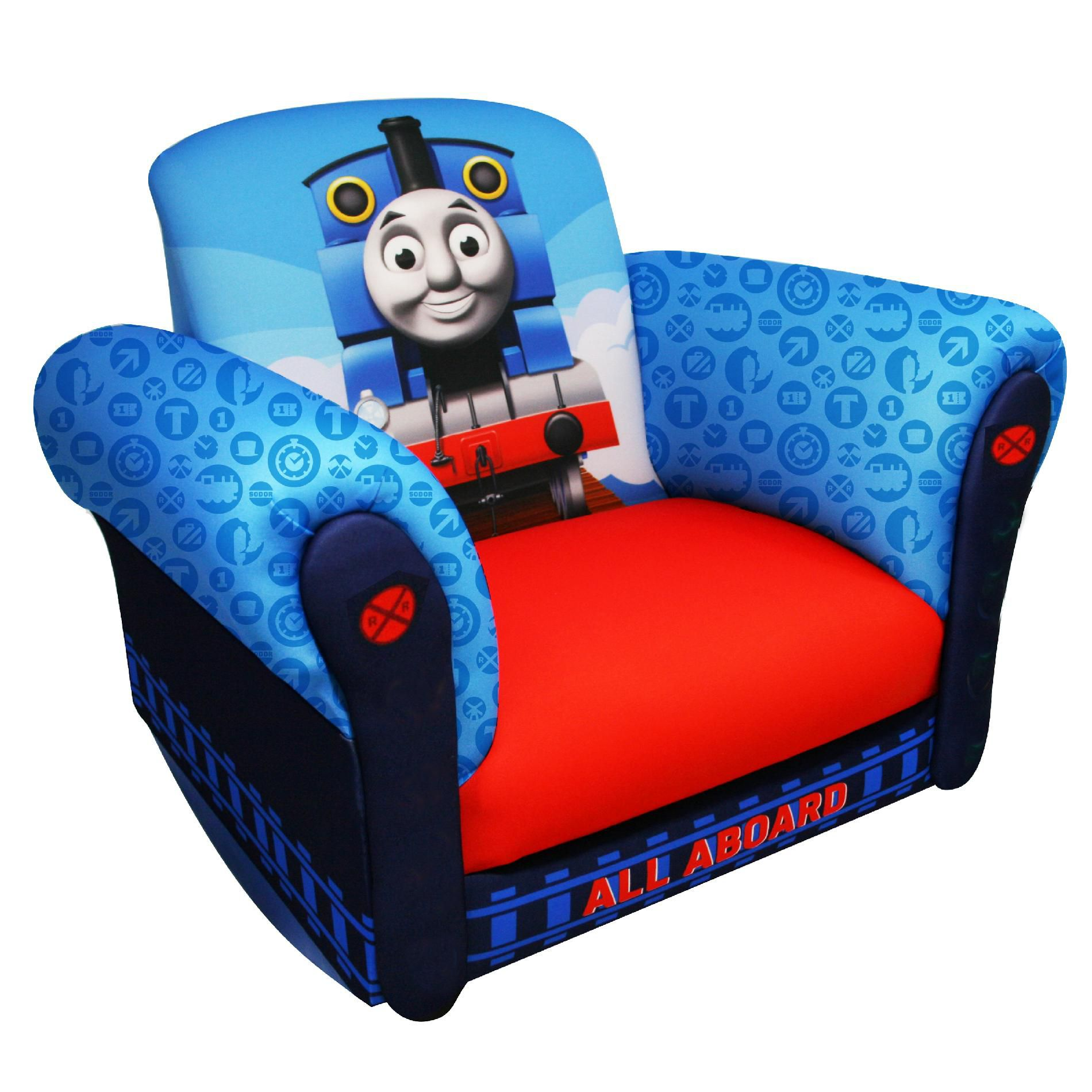 thomas train chair cover rental northwest indiana hit entertainment the tank engine deluxe rocker