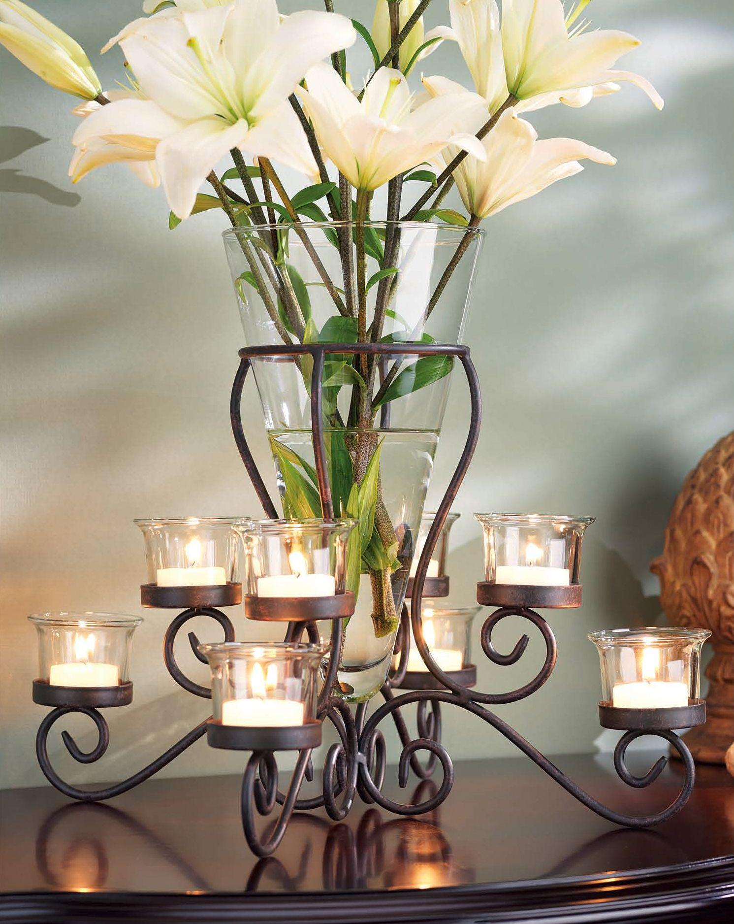 Home Essentials Brilliance Tealight Vase