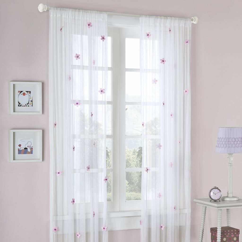 Madison Classics Taylor Allover Flower Panel In CreamPink Color