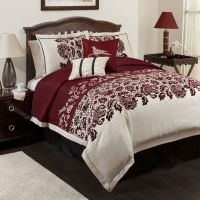 Lush Decor Estate Garden Red 6-pc Comforter Set King ...