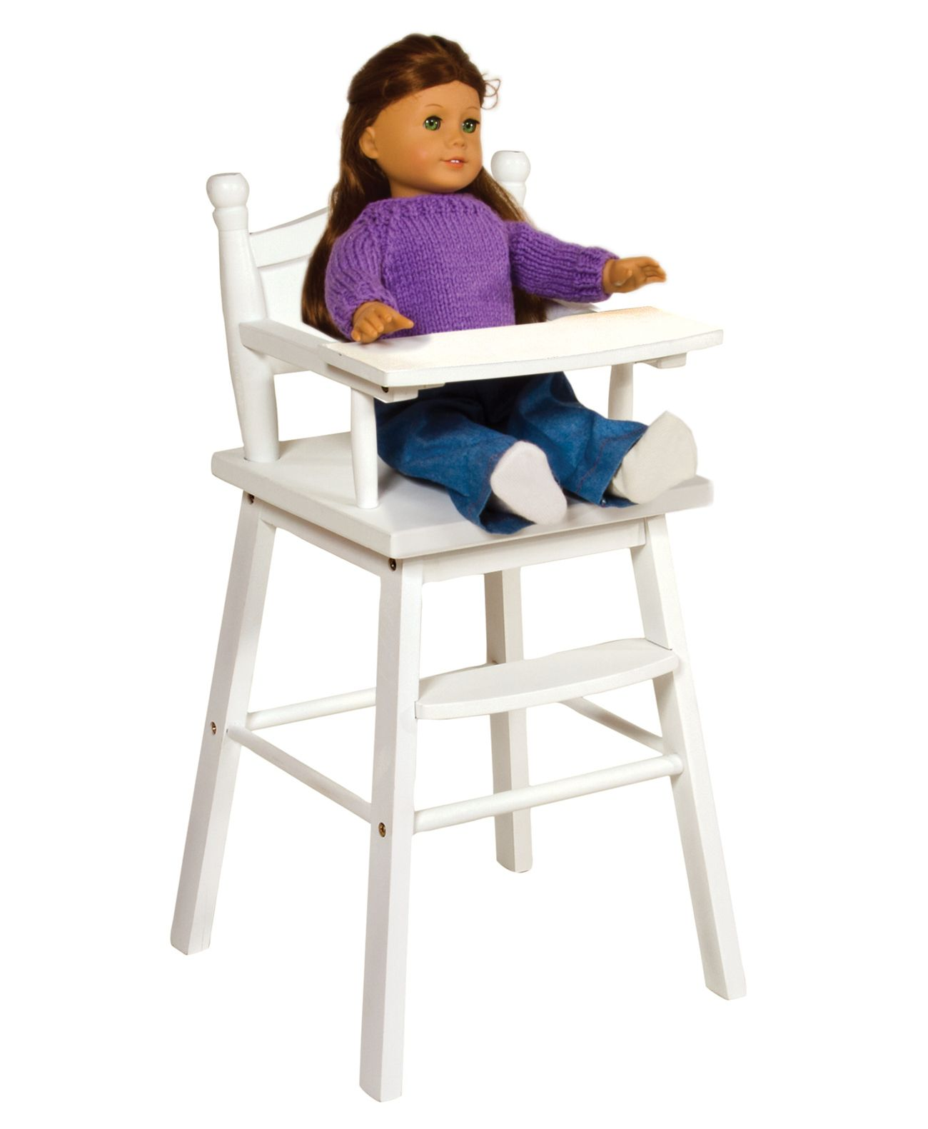 high chair with accessories soccer ball bean bag guidecraft doll white toys and games dolls