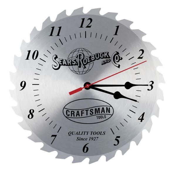 Craftsman 12 In. Vintage Clock Shop | Shop Your Way ...