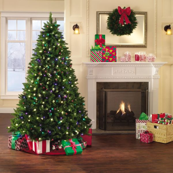 Holiday Showtime 7' Christmas Northern Lights Spruce Tree Online Shopping