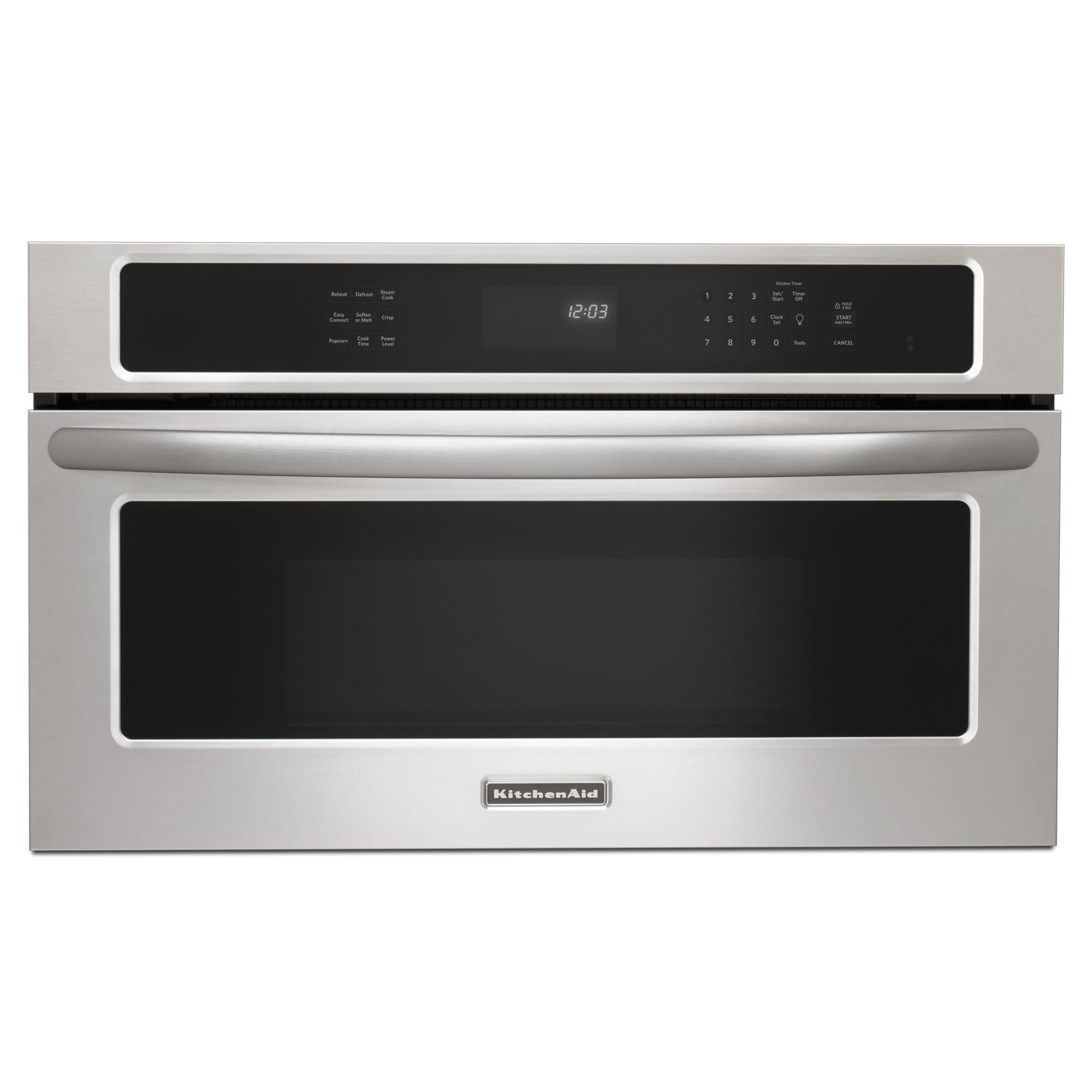 kitchen aid microwaves sears tables kitchenaid kbhs109bss 1 4 cu ft 900 watt 30 quot built