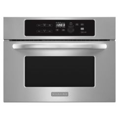Kitchen Aid Microwaves Gray Wash Cabinets Kitchenaid Kbms1454bss 24 Stainless Steel Built In