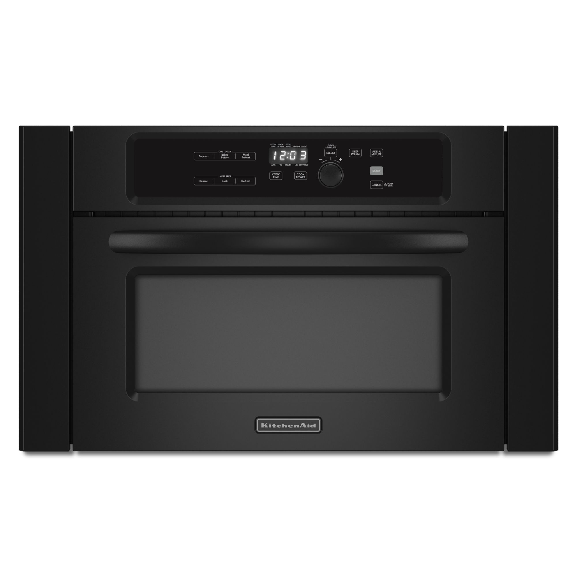 kitchen aid microwaves fluorescent lights kitchenaid kbms1454bbl 24 quot built in microwave oven