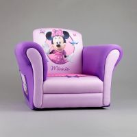 Delta Upholstered Child's Minnie Mouse Rocking Chair ...