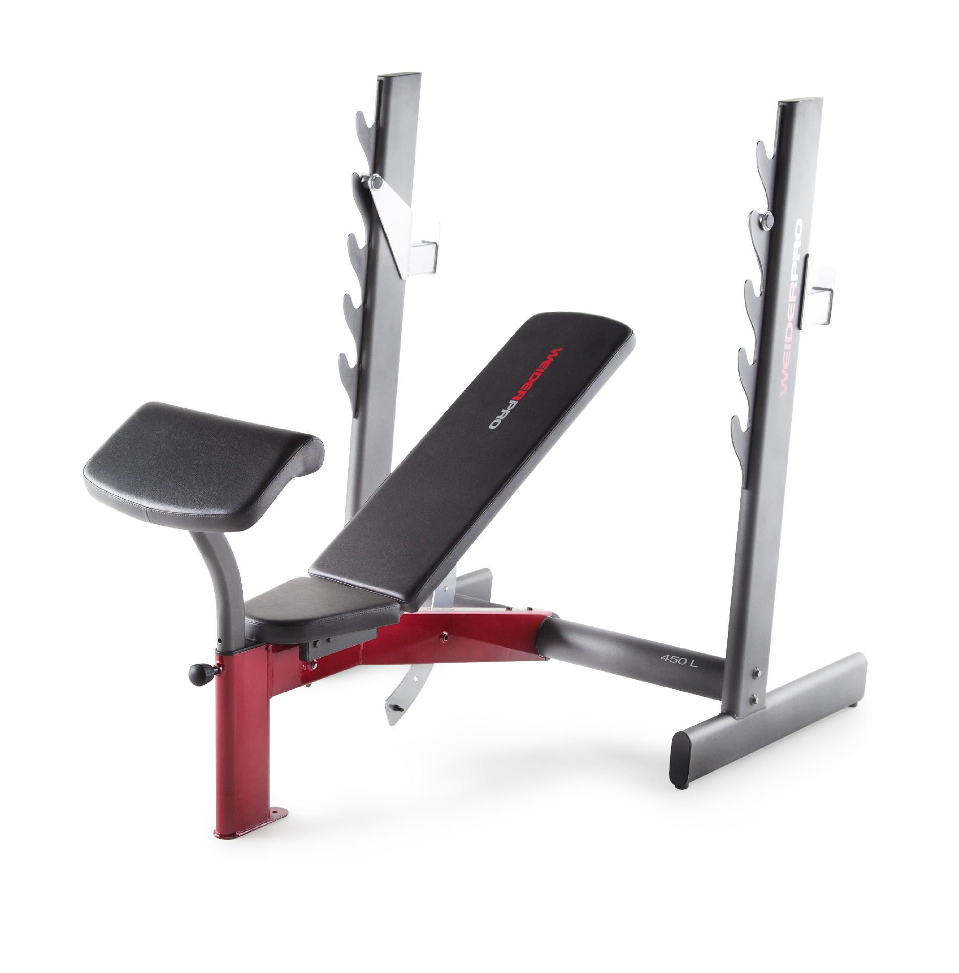 Weider - 15948 Pro 450 L Olympic-width Bench Sears Outlet