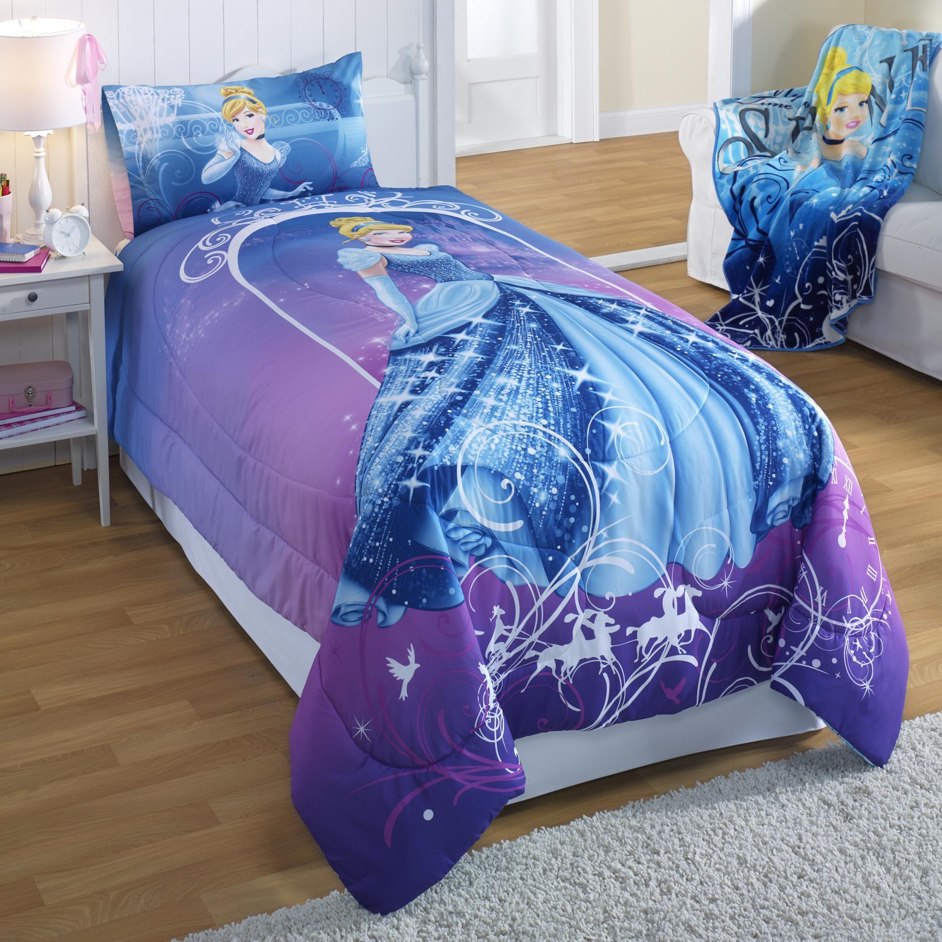 Disney Cinderella Twin Full Comforter