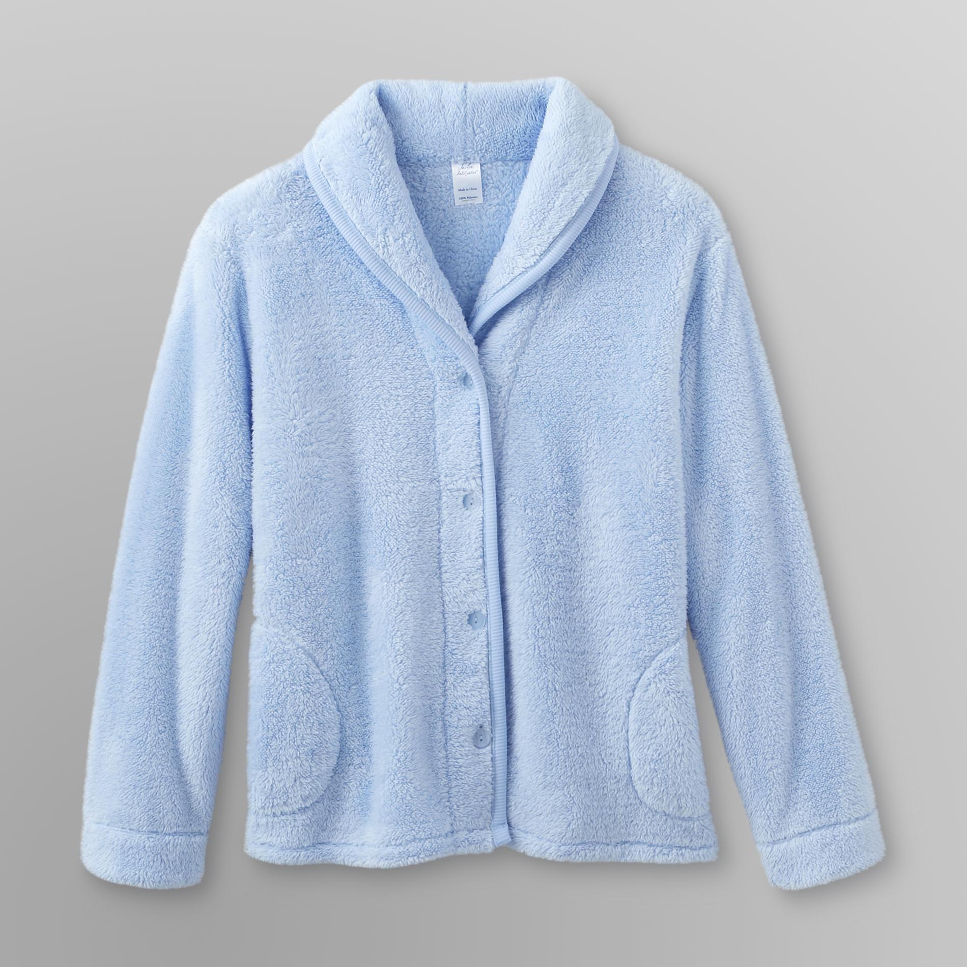 Jaclyn Intimates Womens Plush Bed Jacket