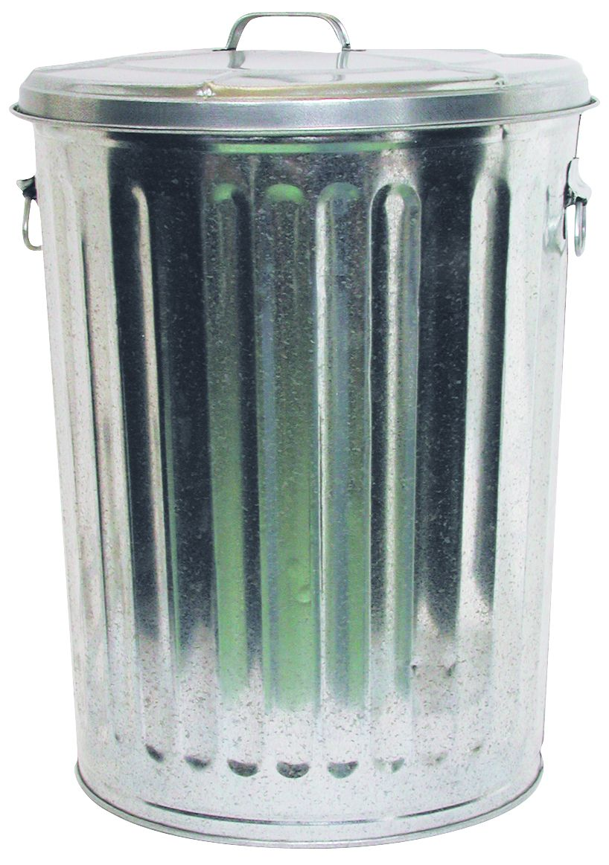 DOVERPARKERSBURG Galvanized Garbage Can 20 Gallon  Tools  Garage Organization  Shelving
