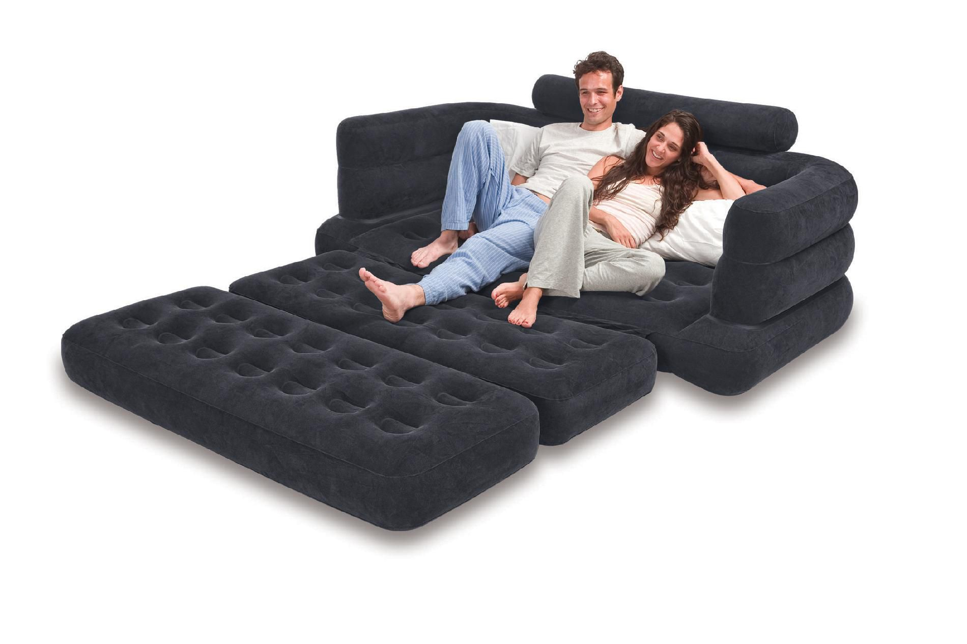 intex inflatable chairs captains for boats pull out sofa kmart