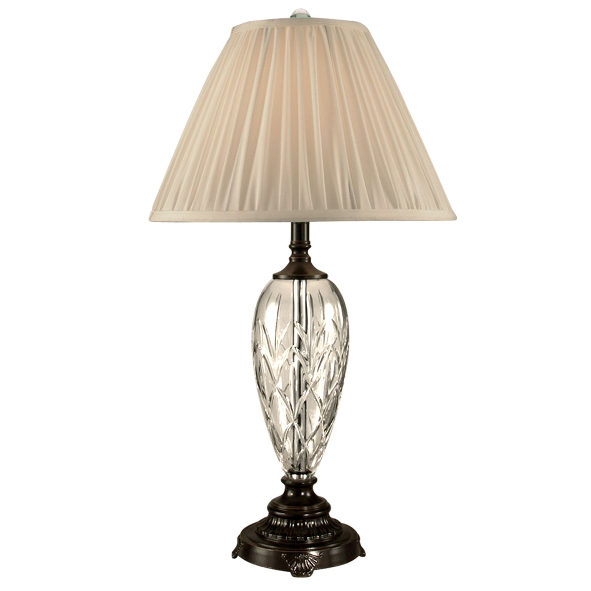 Dale Tiffany Lucy Crystal Table Lamp - Home Decor