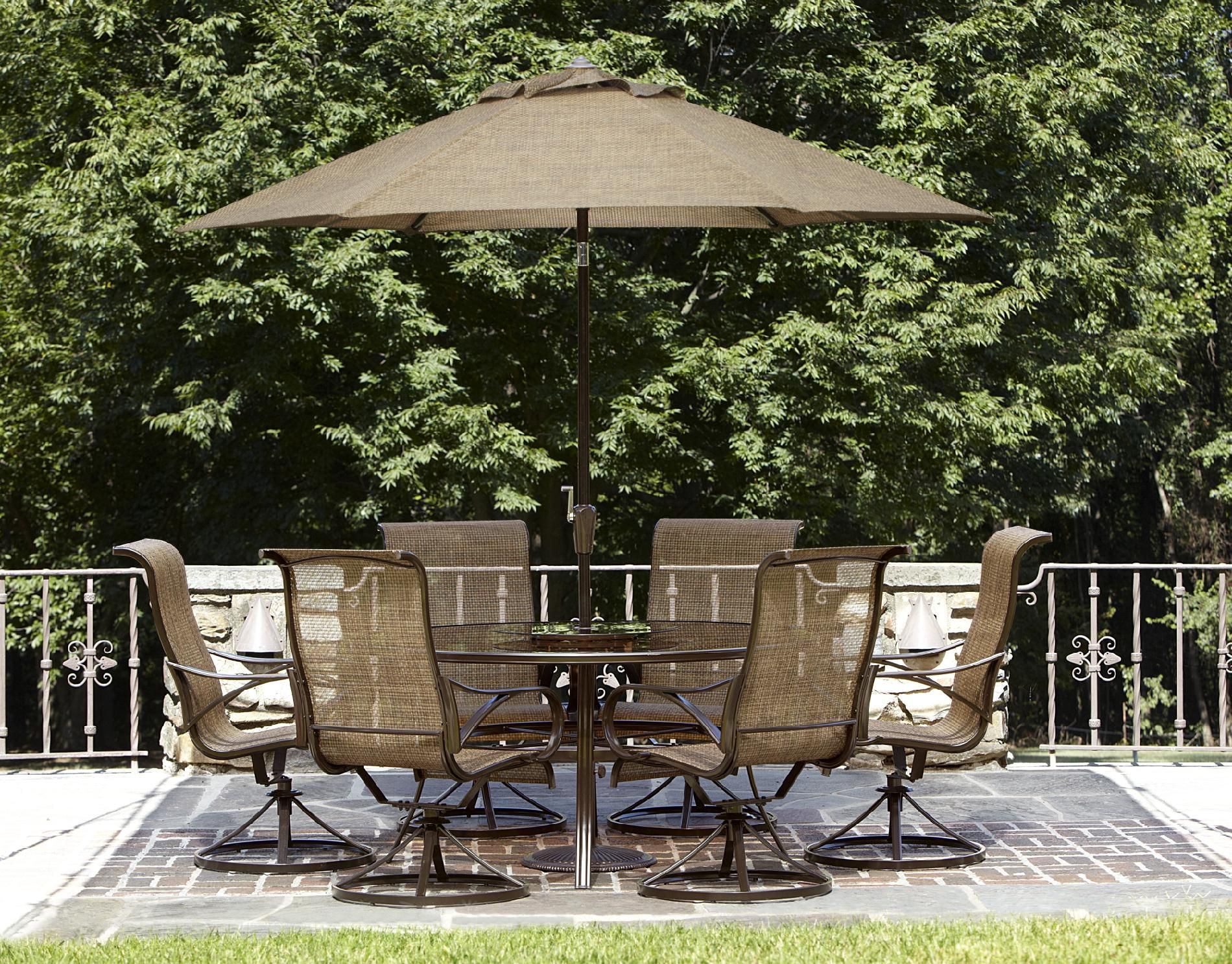 Garden Oasis - Xss-1563 Owens 7pc Dining Set Limited