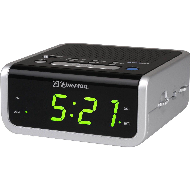 Emerson Cks1702 Fm Smartset Clock Radio