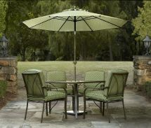 Garden Oasis Shoal Creek 5pc Dining Set Green