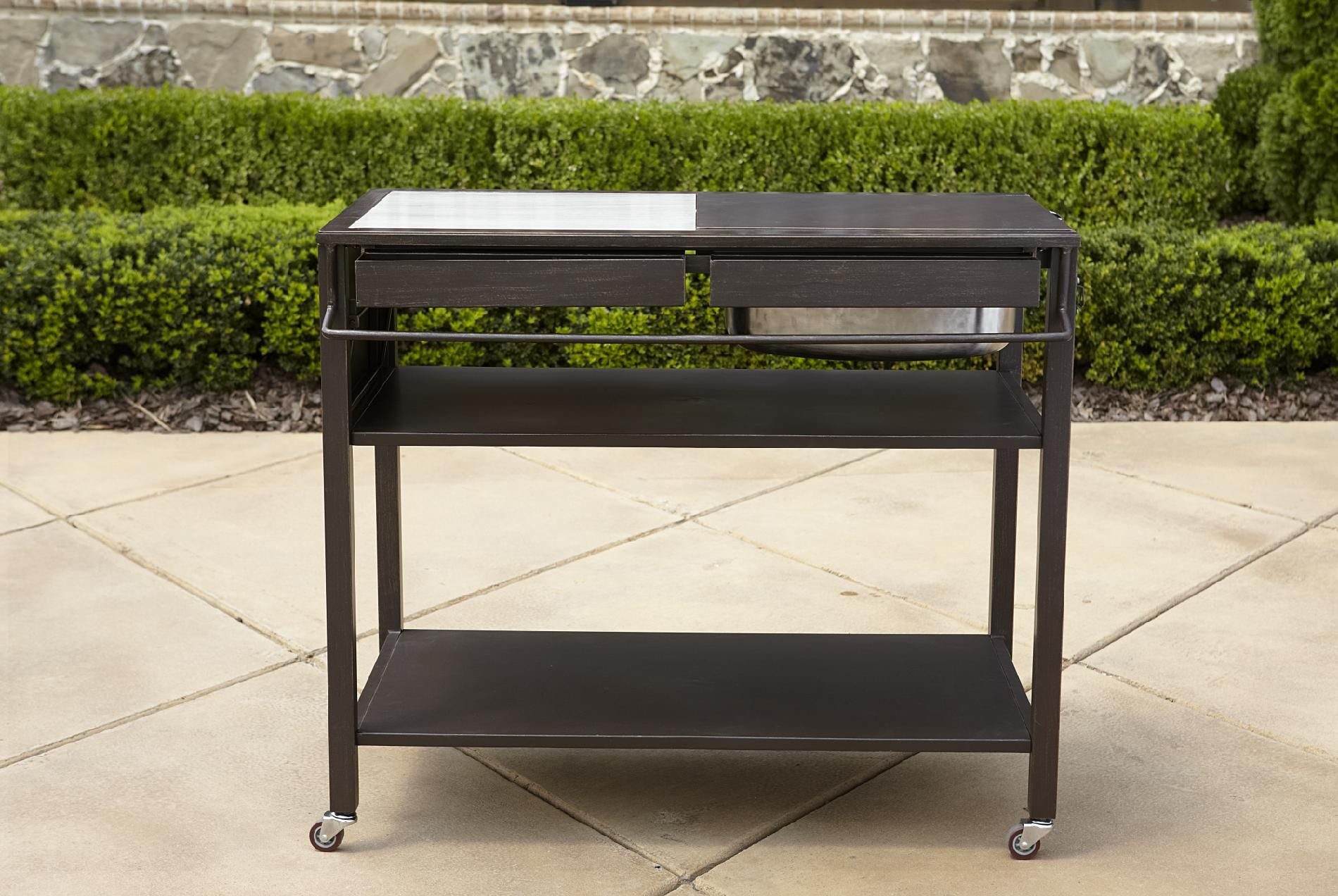 outdoor kitchen cart nook ideas la z boy halley shop your way