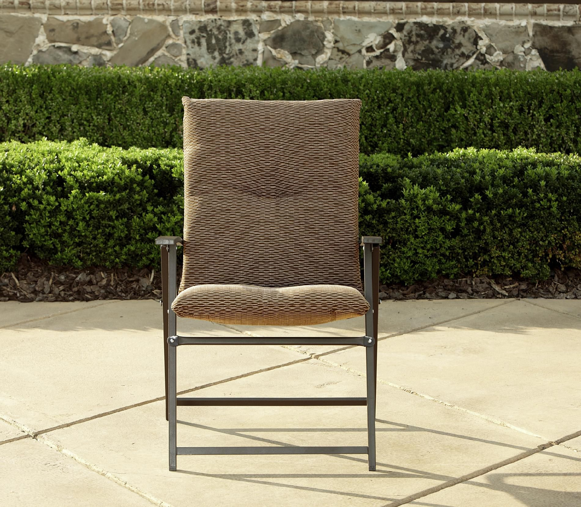 LaZBoy Outdoor Alex Padded Folding Chair  Outdoor