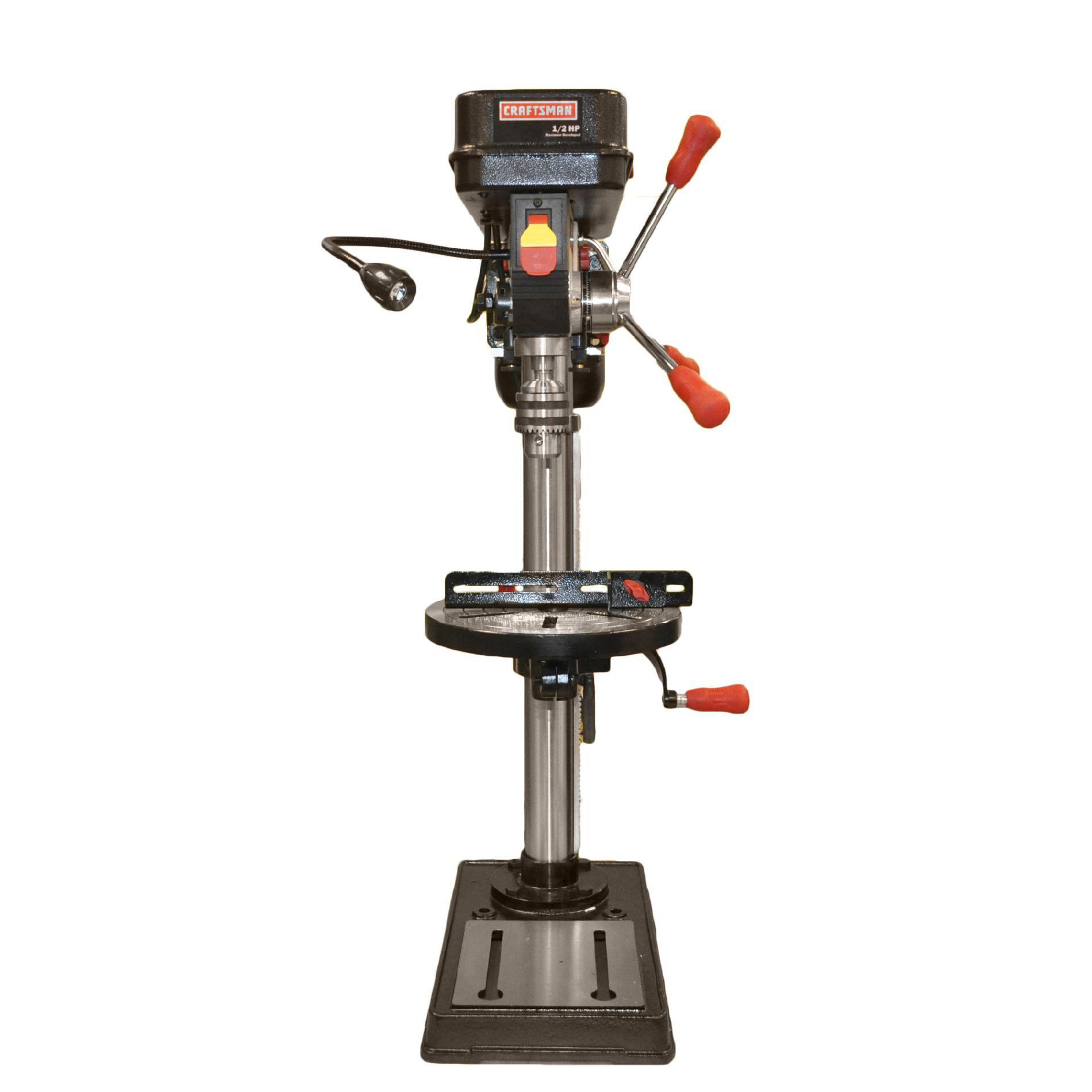 Craftsman Drill Press Belt Adjustment