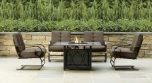 Grand Resort Smoky Hill 5pc Gas Firepit Chat