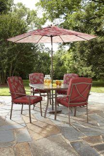 Garden Oasis Dagny Square Glass Table - Numark Industries
