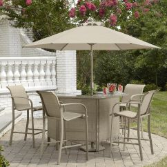 Outdoor Bar Table And Chairs Toddler Chair Cover Jaclyn Smith Stegner Limited Availability
