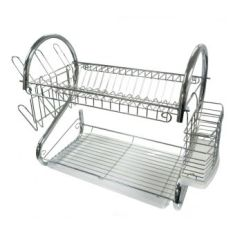 Kitchen Drying Rack Stone Sinks Dish Racks Drainers Sears Better Chef Dr 16 Inch Chrome