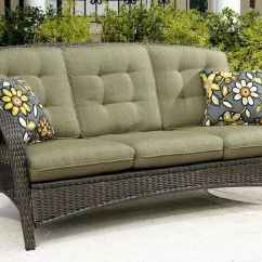 Sofa Camping Benchcraft Brileigh Reviews 3 Seat Patio Lovely Home Decorators
