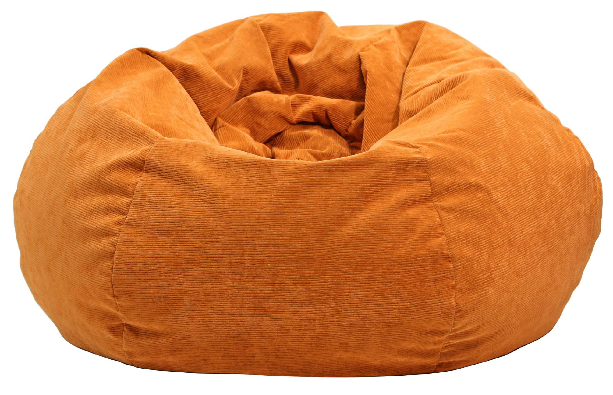 Corduroy Bean Bag Chair Extra Large Micro Fiber Suede Corduroy Bean Bag Bean Bags