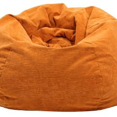 Corduroy Bean Bag Chair Medical Bath Extra Large Micro Fiber Suede Bags