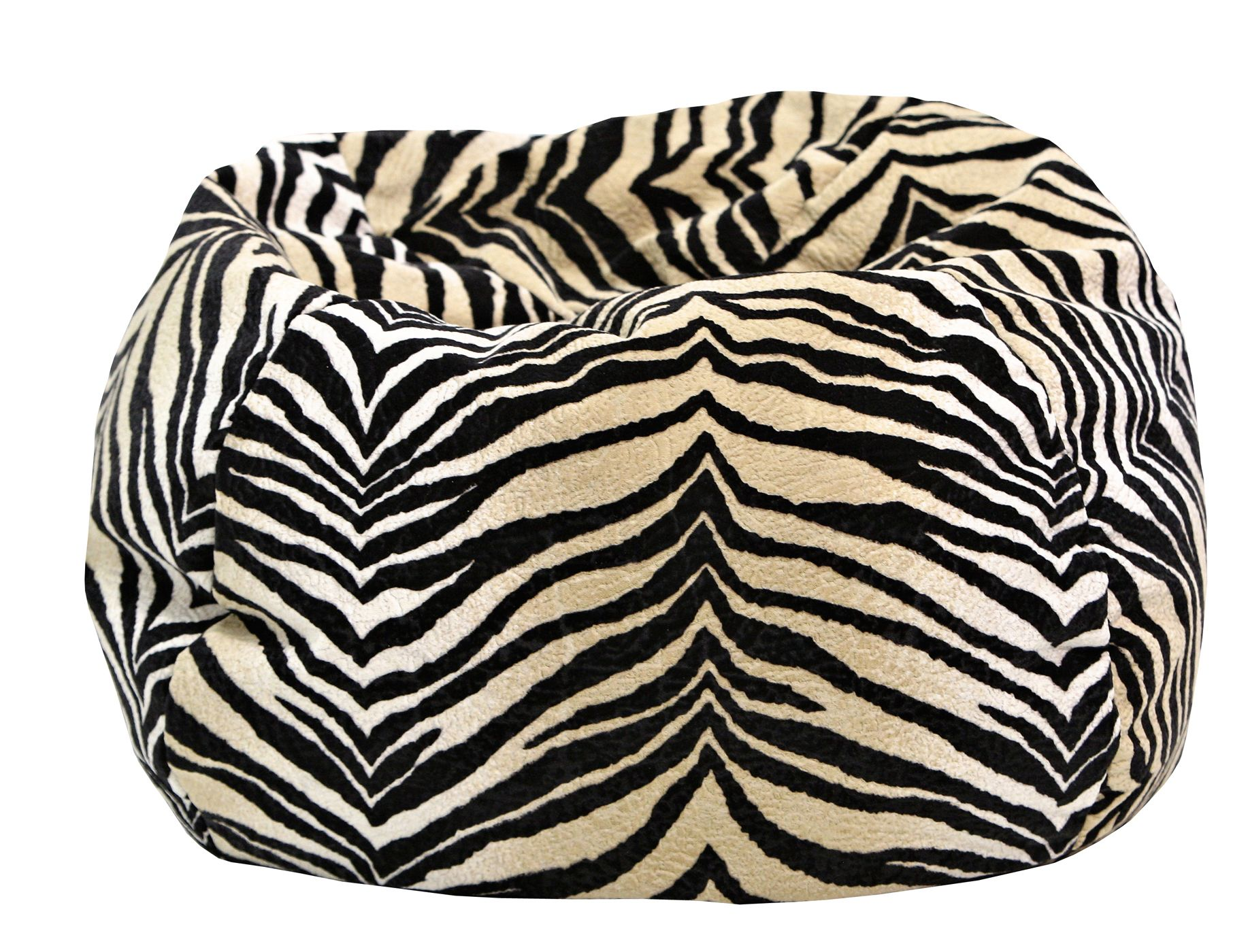 cheetah print bean bag chair beach lounger medium tween micro fiber suede animal bags