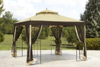 Garden Oasis Replacement Canopy for Arrow Gazebo - Outdoor ...