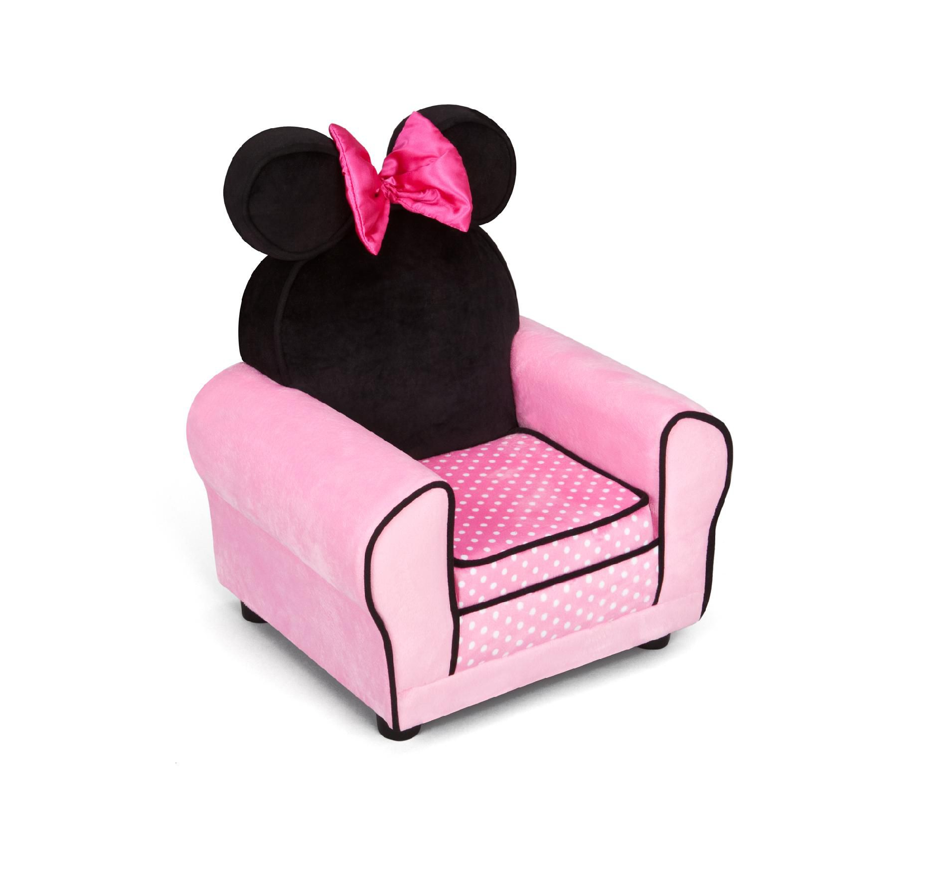 minnie mouse upholstered chair spool delta children disney baby