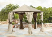 Garden Oasis Replacement Canopy Hexagonal Gazebo