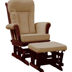 Glider Rocker Chair Cushions Swing Hayneedle Dream On Me Elysium And Matching Ottoman