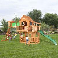Backyard Discovery Woodridge Cedar Swing Set - Free ...