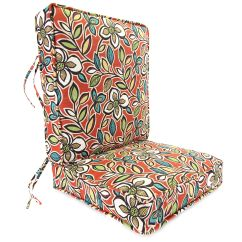 Boxed Chair Cushions Racing Seat Office South Africa Jordan Manufacturing Co Inc Ethan Scarlet Deep Seating