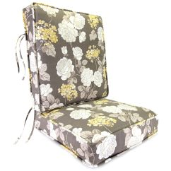Boxed Chair Cushions Toilet For Elderly Jordan Manufacturing Co Inc Vivienne Putty Deep Seating