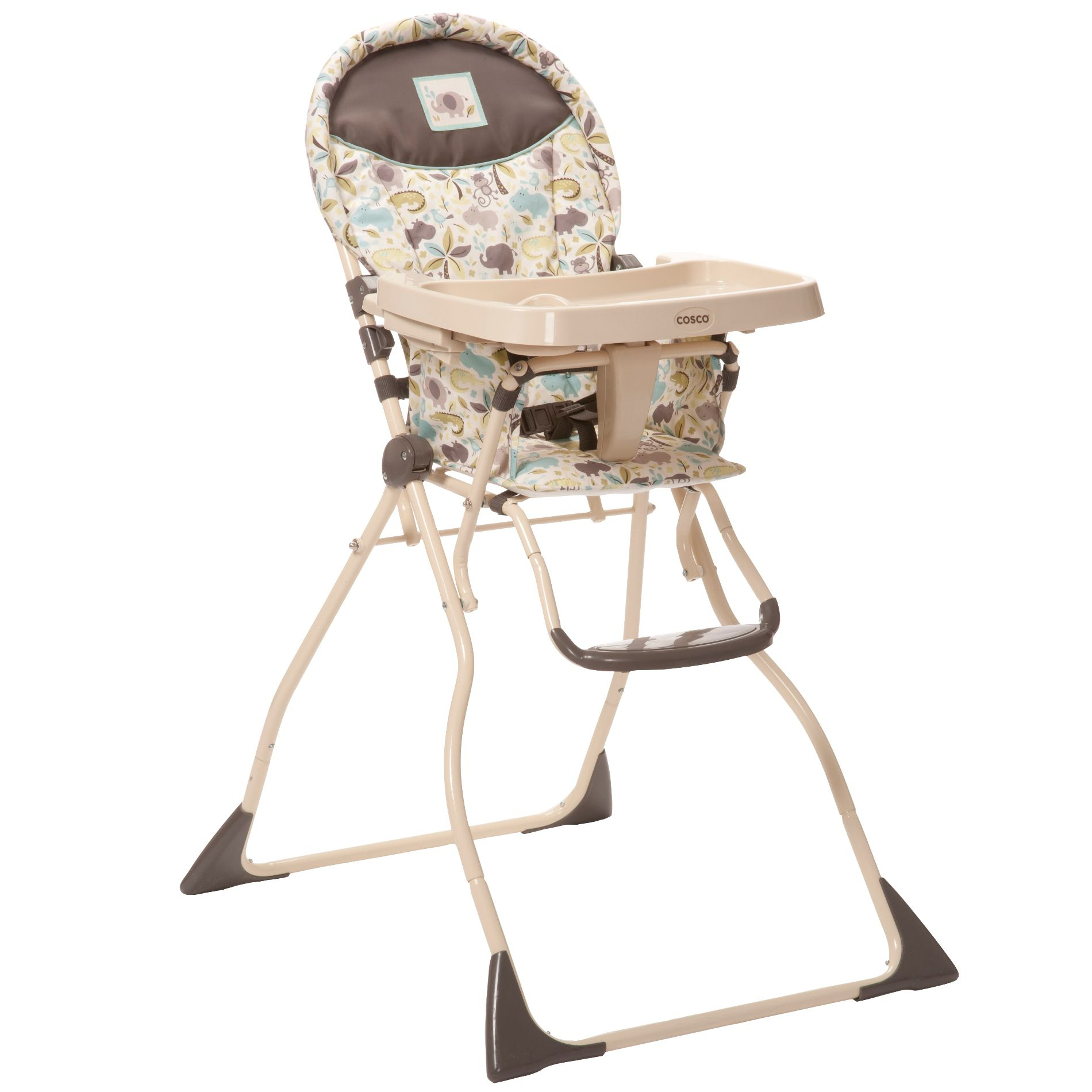 how to fold up a cosco high chair pelton and crane dental super safari compact slim baby