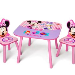 Minnie Mouse Folding Chair Light Pink Spandex Covers Fun Tables And Chairs For Kids