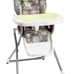 Cosco High Chair Cover Dining Room Covers South Africa Super Safari Compact Slim Fold Baby