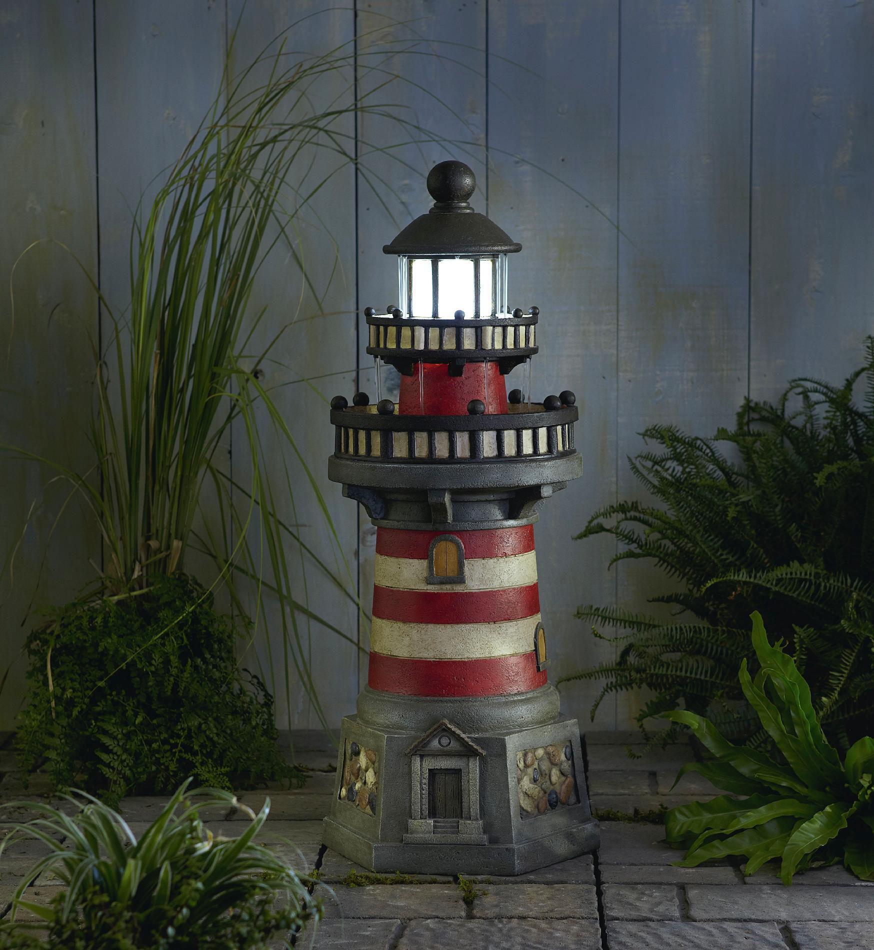 Oasis Lighthouse Garden Fountain