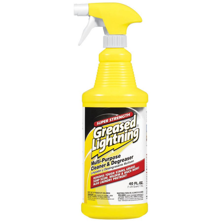 & Cleaning Products Greased Lightning Super Strength Cleaner And Degreaser 40 Fl Oz
