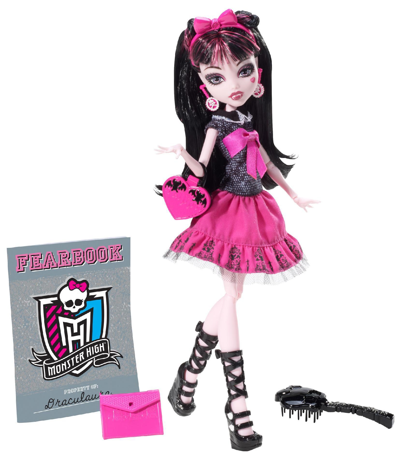 Monster High Draculaura Day Doll Nib