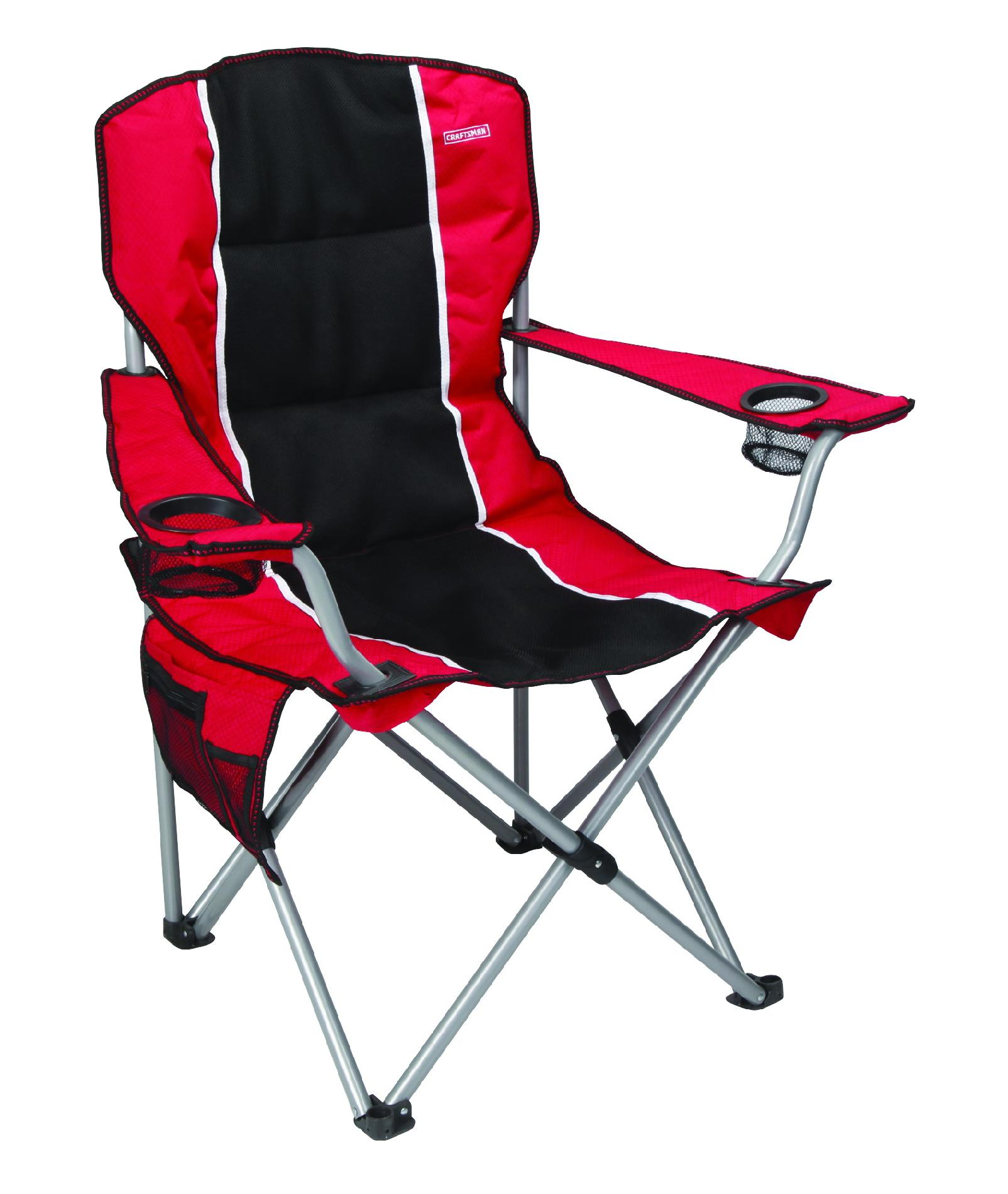 fishing chair gimbal target saucer craftsman camping chair: outdoor camp seating from kmart