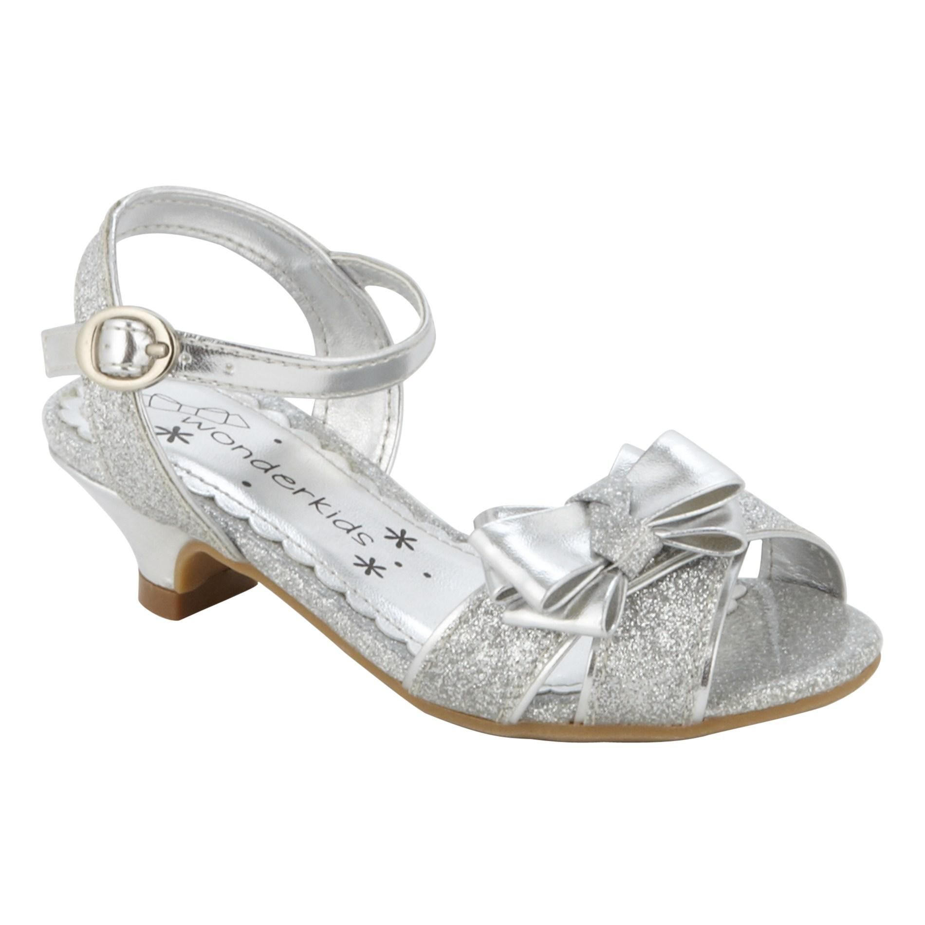 Wonderkids Toddler Girl' Dress Shoe Quintinala - Silver
